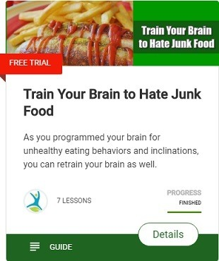 Train Your Brain to Hate Junk Food. How to suppress appetite and lose weight